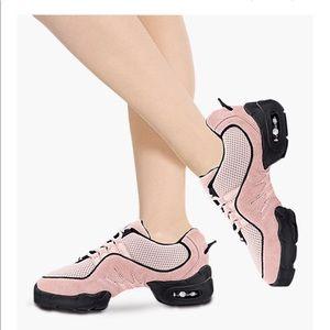 Bloch Mesh Split Sole Dance Sneaker S0538L